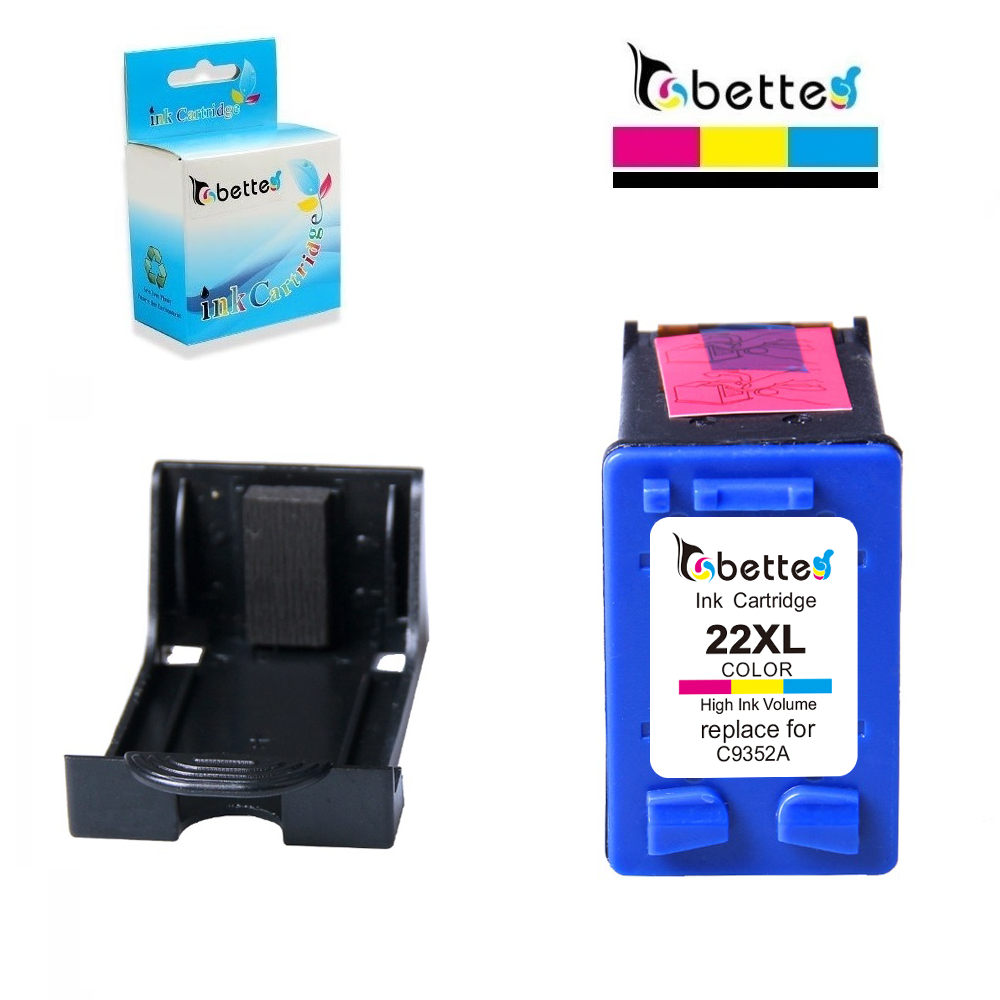 21XL 22XL Ink Replacement for HP Cartridges 21 and 22 DeskJet 3915 D1320 D1311 D1455 D1530 F2100 F2180 F2280 F4140 F4172 F4190 in Ink Cartridges from Computer Office