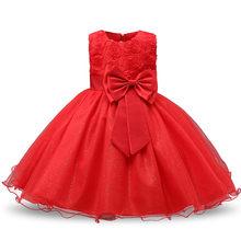 7987b695a Promoción de Vestido Rojo Por 1 Año Bebé Niña - Compra Vestido Rojo ...