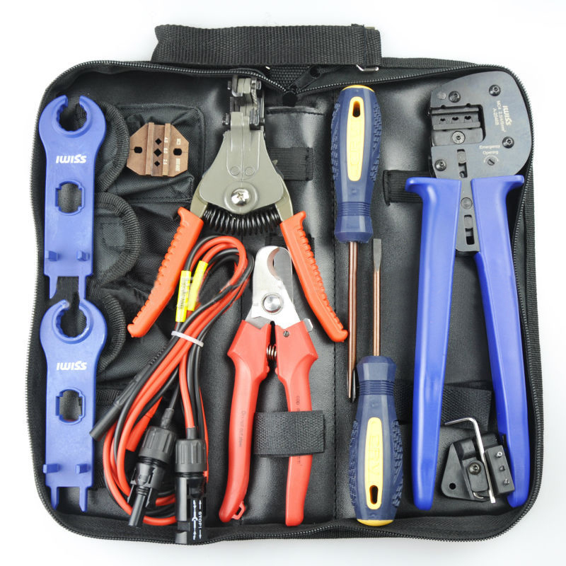 solar pv crimping tool kit for 2 5 4 6mm2 solar cable mc4 solar crimping tool kits crimping. Black Bedroom Furniture Sets. Home Design Ideas