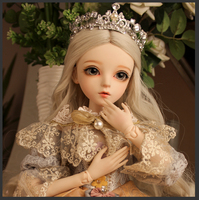 BJD 1/3ball jointed Doll gifts for girl Handpainted makeup fullset Lolita/princess doll with clothes KARINA