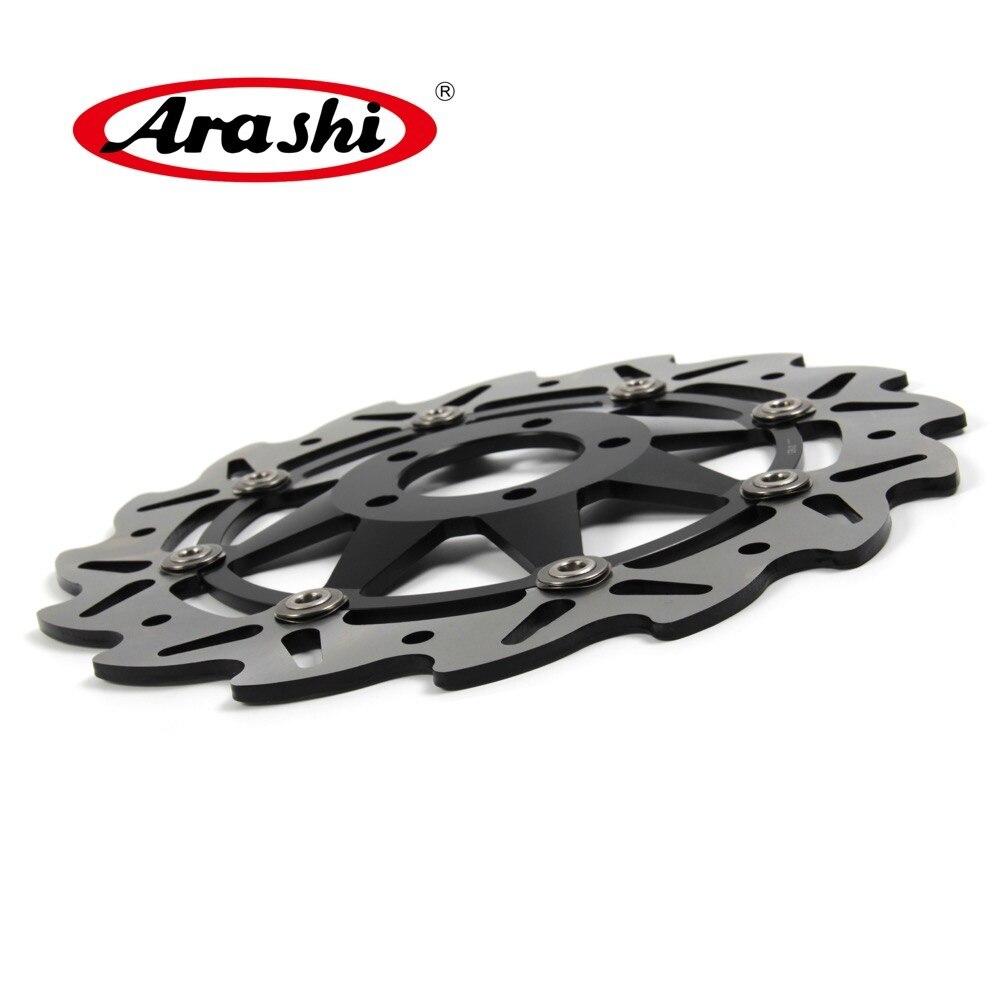 Arashi 1 pièces pour KAWASAKI ZZR250 1992 CNC frein avant disque Rotors ZZR 250 1992 600 moto PartsELIMINATOR 1995 1999-droite