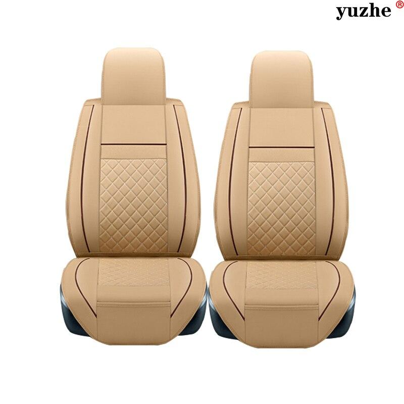 2 pcs Leather car seat covers For Chevrolet CRUZE SAIL LOVE AVEO EPICA CAPTIVA Cobalt Malibu lacetti car accessories styling
