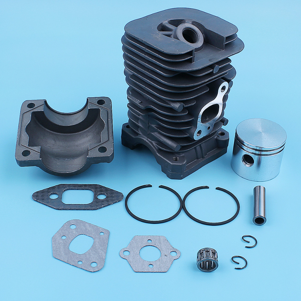 41.1mm Cylinder Piston Kit For <font><b>MCCULLOCH</b></font> MAC CAT <font><b>335</b></font> 435 440 338 438 444 <font><b>Chainsaw</b></font> Engine Pan Replacement Part image