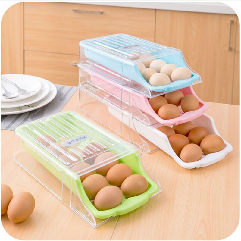 Creative Drawer Style Eggs Holder Container Drawer Egg