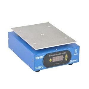 Image 4 - Preriscaldare Statione + Accessori 9.6 pollice 220 v/110 v Preriscaldamento Piattaforma Digitale Piastra di Riscaldamento Per Schermo A CRISTALLI LIQUIDI Del Telefono separatore di 946 s