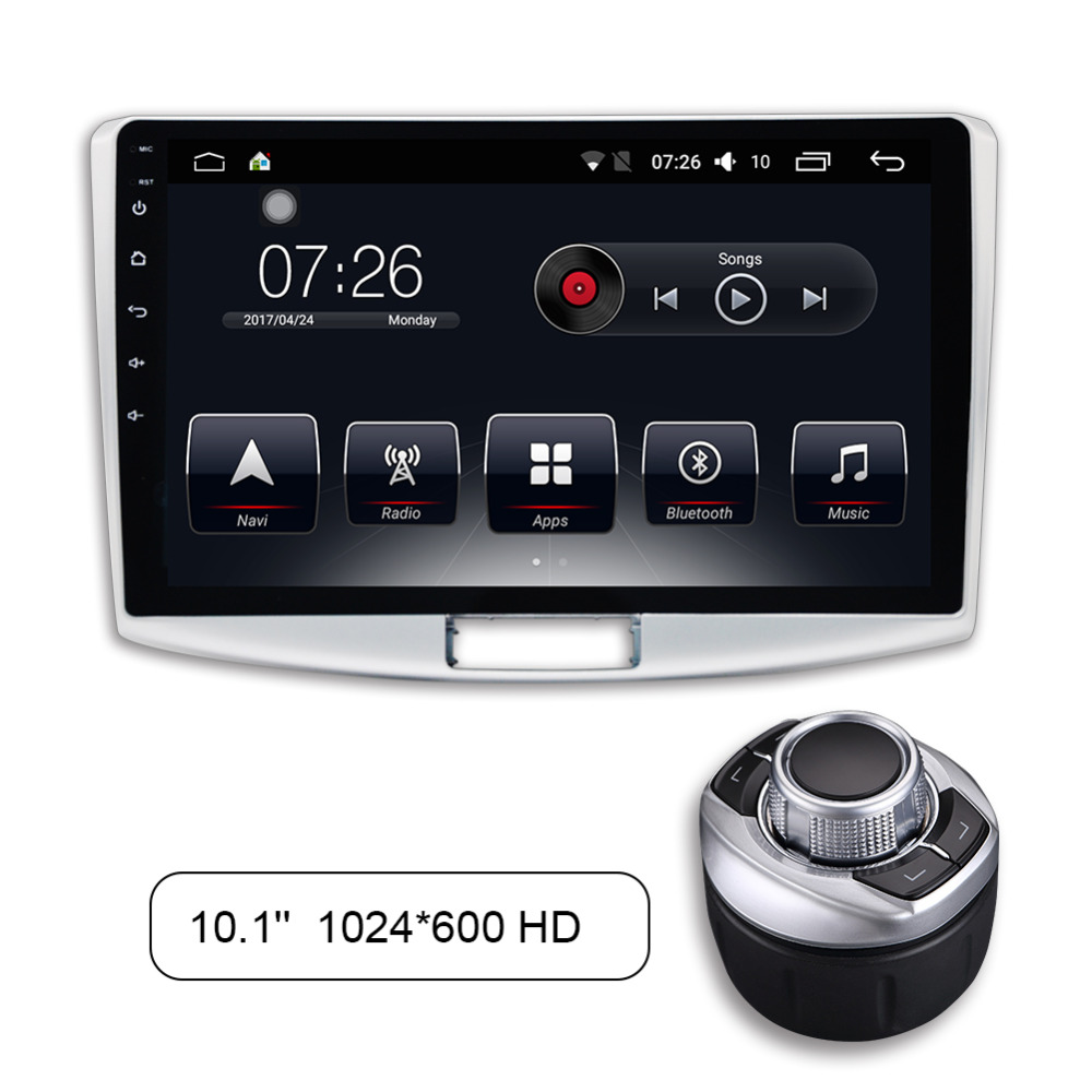 10 1 Android 7 1 Quad Core Car Stereo Radio Multimedia Player For VW Passat B7
