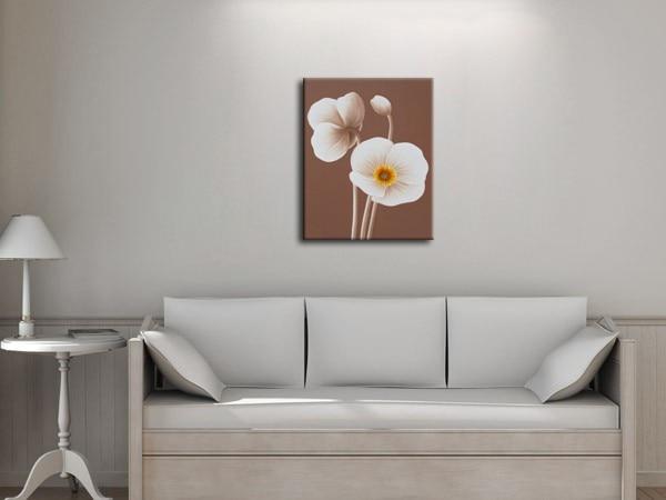 Obyčejný obývací pokoj Nástěnné obrazy Květiny Malování pro - Dekorace interiéru