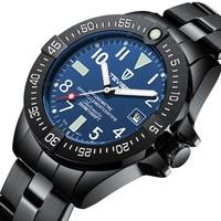 Business Men Automatic Mechanical Watch TEVISE Calendar Time Display Fashion Luminou Hands 3ATM Waterproof Male Wristwatch