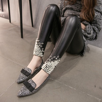 Hot Sales Fashion Women T Tights Leather Beauty Skinny Sexy Women Tights Comfortable Attractive High Quality