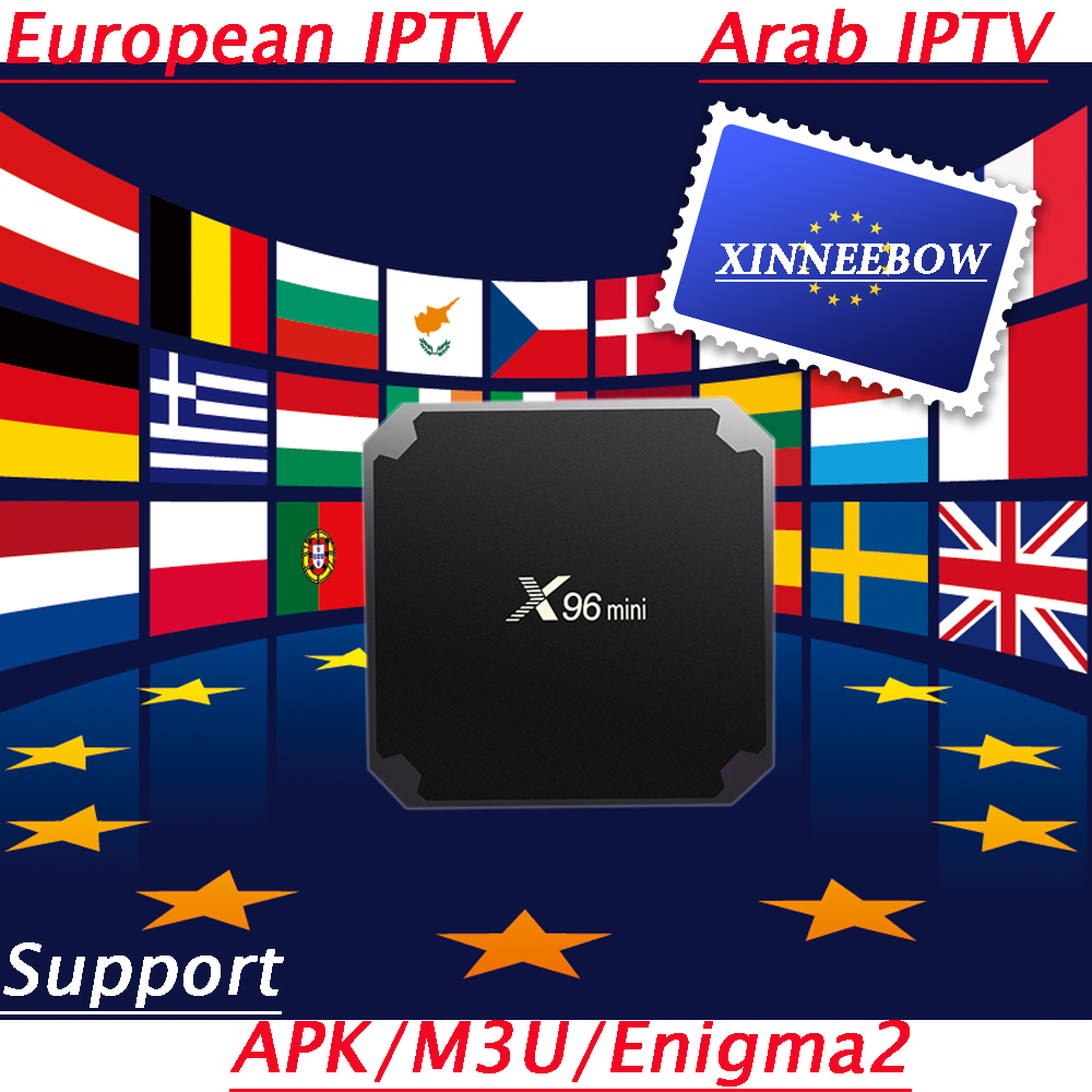 US $25 2 30% OFF|Europe France IPTV Box Spain M3U Subscription HD Live TV  X96 Mini Android TV Box for Spanish UK Portugal Italy Channels-in Set-top
