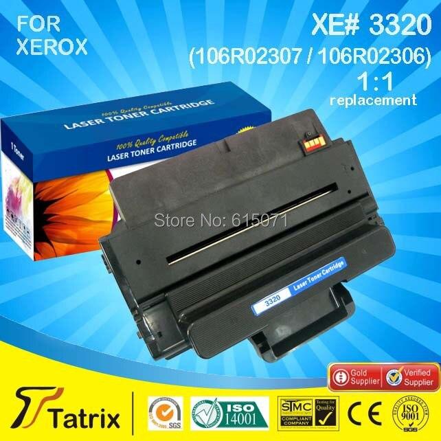 ФОТО 3320 106R02306,Compatible Toner Cartridge 3320 Black Compatible Toner Cartridge Use for Xerox 3320 Laserjet Printer