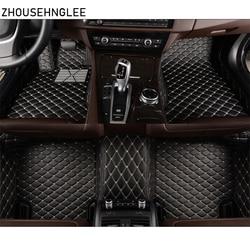 Zhoushenglee изготовленный на заказ для Ford Focus 2 3 2005 2006-2012 2013 2014-2016 2017 2018 автомобильные коврики Кожаные чехлы салона авто коврик