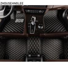 Zhoushenglee personalizado para Ford Focus, 2, 3, 2005, 2006-2012, 2013, 2014-2016, 2017, 2018 alfombras de piso cubre Interior de cuero de alfombra