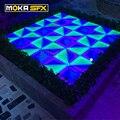 48 квадратных метров/лот СВЕТОДИОДНЫЙ матричный танцевальный пол 1 метр * 1 метр светодиодный напольный танцевальный Led диско танцевальный по...