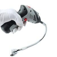 105 Degree Driver Screwdriver 1 4 Inch Hex Bit Socket Holder 295mm Flexible Shaft Bits For