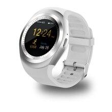 Smartch Y1 Montre Smart Watch Soutien Nano SIM Carte et TF Carte Smartwatch PK GT08 U8 Portable Intelligent Electronics Stock Pour iOS Android