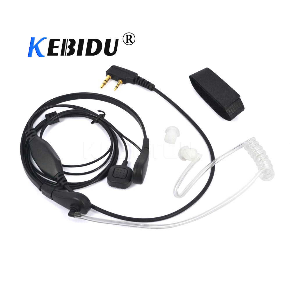 Kebidu и ларингофоном с Вибрация игровая гарнитура наушники для BaoFeng UV-5R UV-B5 UV-B6 BF-888S TG-UV2 иди и болтай Walkie Talkie