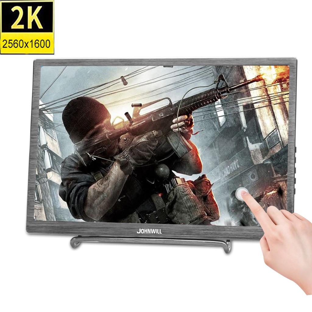 10,1 2 K 2560*1600 ips сенсорный экран портативный игровой монитор светодиодный ЖК планшет type C с 2 мини HDMI для PS3 PS4