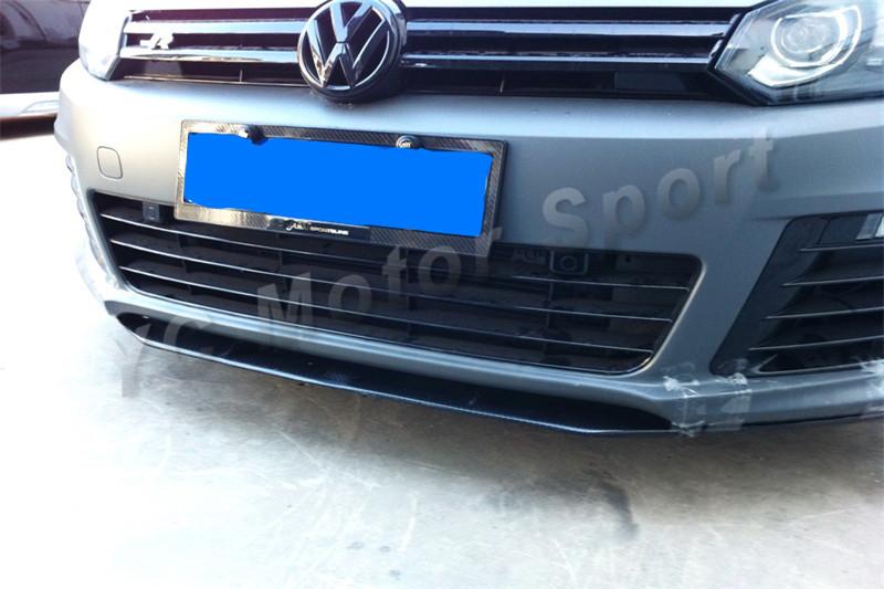 2010-2012 Volkswagen Golf R Revozport Style Front Lip FRP (30)