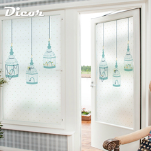 Free Custom Stained Static Cling Window Film Frosted Opaque Privacy Glass Sticker Home Decor Digital print BLT180 Wait Quietly