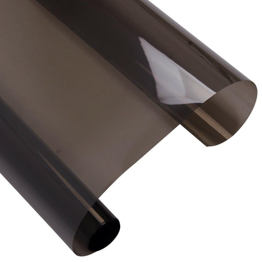 VLT35 % Film de teinte de fenêtre de voiture automatique 99% résistant aux UV Nano céramique Film de teinte solaire voiture ombre Auto-adhésif autocollant feuilles 1.52x10 m