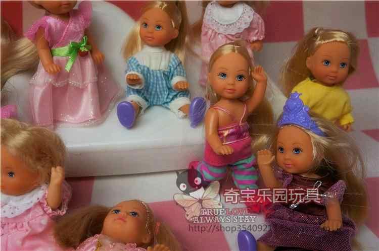 Оригинальная кукла-Симба из Германии с 5 соединениями, в том числе одежда, 11 см, похожая кукла Келли, маленькие куклы/Детские игрушки для детей