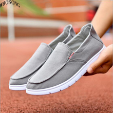 Canvas Shoes Men, Ultralight Breathable Casual Men Shoes ,Spring Summer Comfortable Loafers Lazy Driving Flats Men Shoe M170