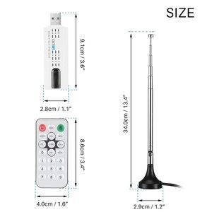 Image 5 - Kebidumei DVB T2/DVB C/FM/DAB 디지털 위성 DVB T2 USB TV 스틱 튜너 HD TV 수신기에 대 한 원격 안테나와 USB TV 스틱
