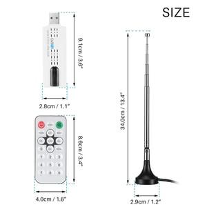 Image 4 - kebidumei USB DVB T/DVB T2 TV Stick Receiver Tuner DVB T/C/T2+FM+DAB HDTV Digitale Satellite Antenna Receiver DVBT DVBT2 DVB C