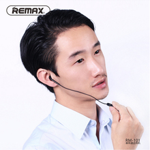 Remax RB-101 3.5mm In-Ear HiFi Earphones With Microphone 1 m Audio Jack Wire High Quality Portable Headset Support Multi-device