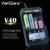 V40 varicore caliente lcd 3.7 v 18650 cargador de batería para aa/aaa 26650/18500/16340/14500/18350 batería recargable pk opus bt-c3100
