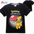 New POKEMON GO Clothes Children Boys Girls T Shirts Kids Baby Boy Clothing Short Sleeve T-Shirt Tops Cotton Tees Free Shipping