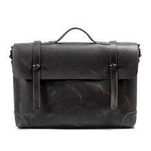 2016 New Arrival Brand Genuine Leather font b Men b font Messenger font b Bags b