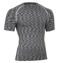 New Arrival Men Fitness Shirts Muscle Shaping Breathable T-shirt For Men Crossfit Quick Dry Compression Slim Fit Male tshirt