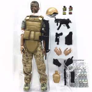 Image 5 - PATTIZ 1/6 12 SWAT Action Figure Model toys Military Army Combat Game Toys boys birthday  Free shipping