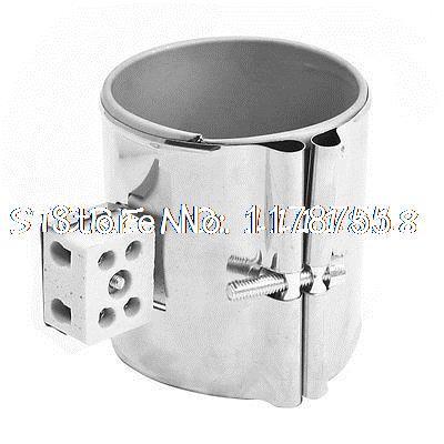 AC 220V 220 Volt 600W Ceramic Plug Stainless Band Heater 75 x 85mm heating element cartridge heater 220 volt 600 watt power 14mm x 290mm
