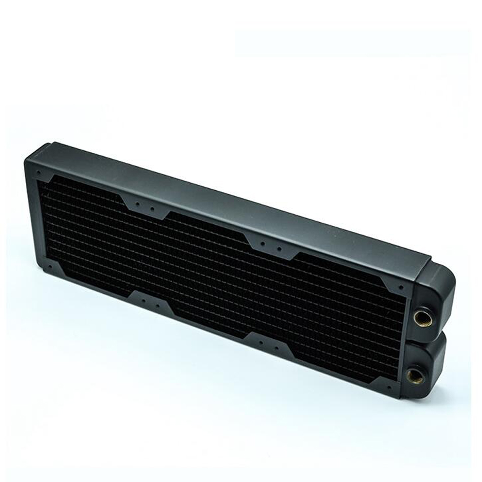 все цены на Copper 360 double heat exchanger water discharge thickening water discharge computer water cooling radiator 40mm онлайн
