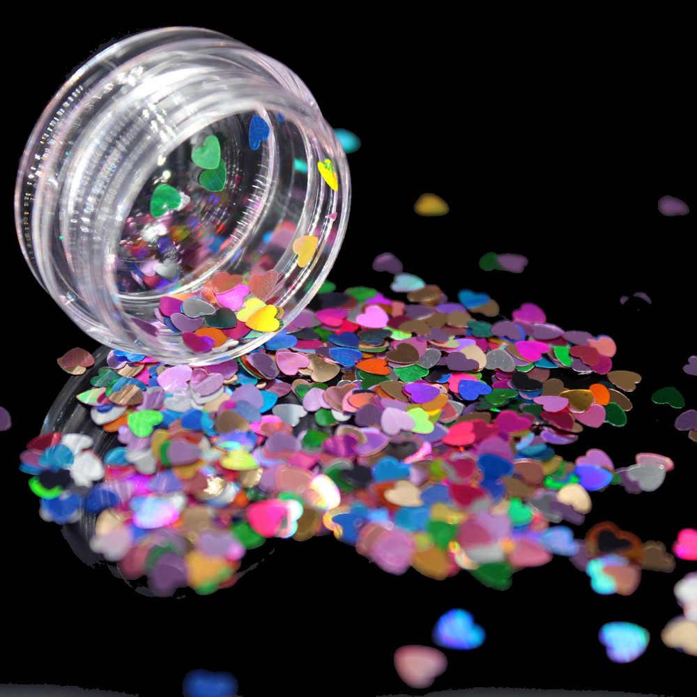 1 Box Rose Red Holografische Pailletten Glitter Shimmer Diamond 12 Kleuren Eye Shiny Skin Markeerstift Gezicht Lichaam Glitter Festival Makeu