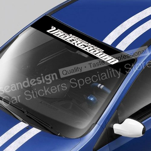 Need For Speed Underground Windshield Decal Sticker PVC