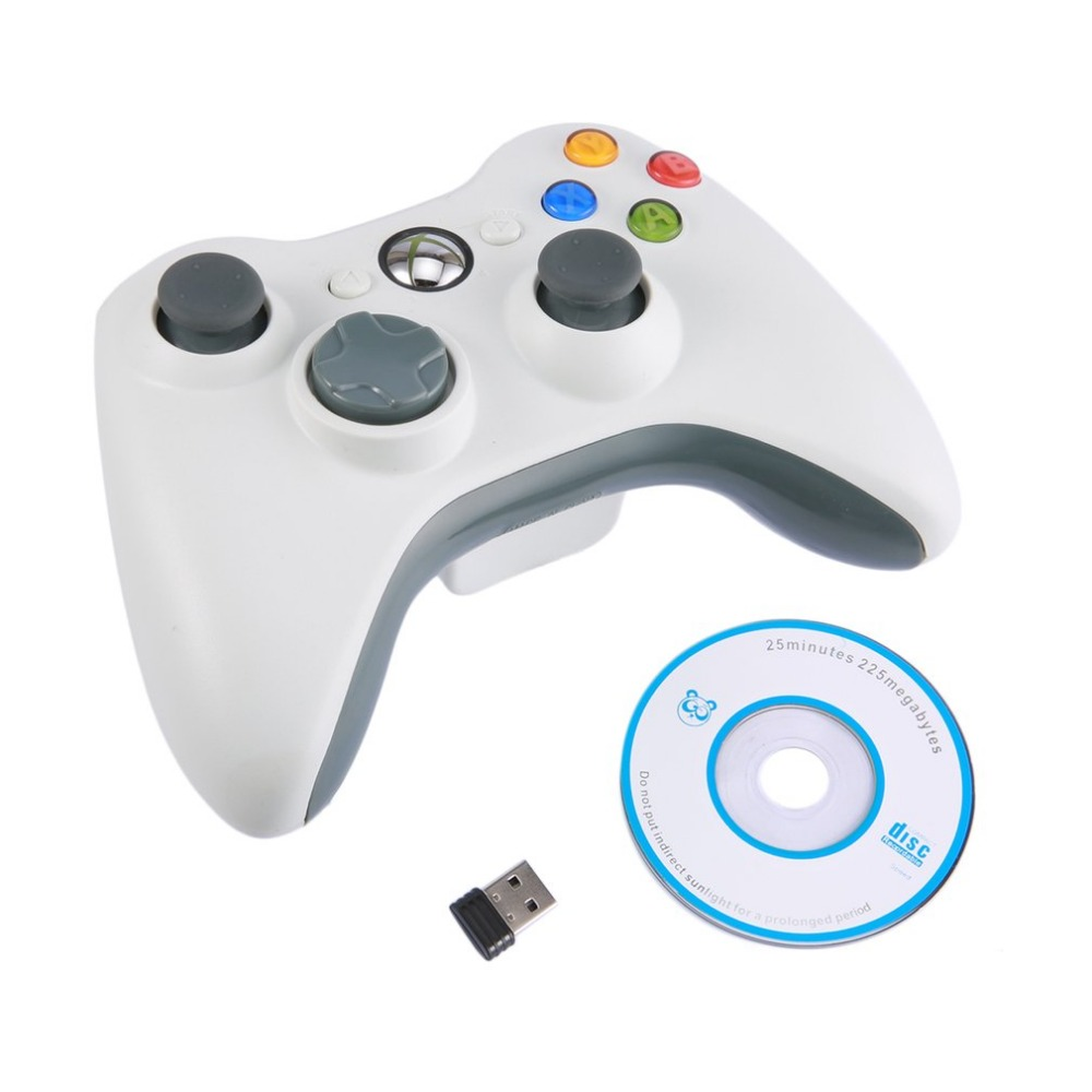 For Xbox360 Gamepad 2 4G Wireless Joystick Handle Game Controller for Microsoft Xbox 360 PC Multi
