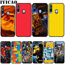 IYICAO Lego blocks Newly Arrived Transparent Silicone Soft Case for Samsung Galaxy A10 A30 A40 A50 A70 M10 M20 M30 Cover(China)