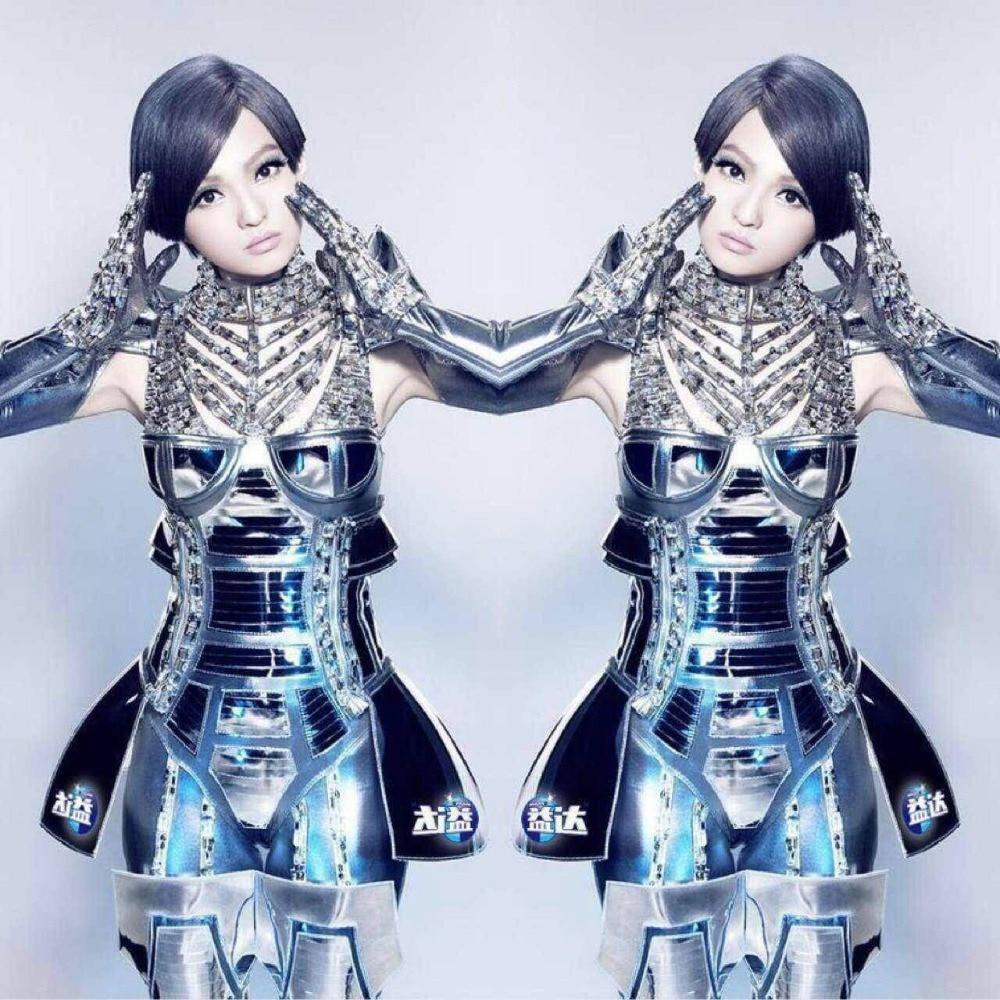 Women' Exaggerated Robot Armor