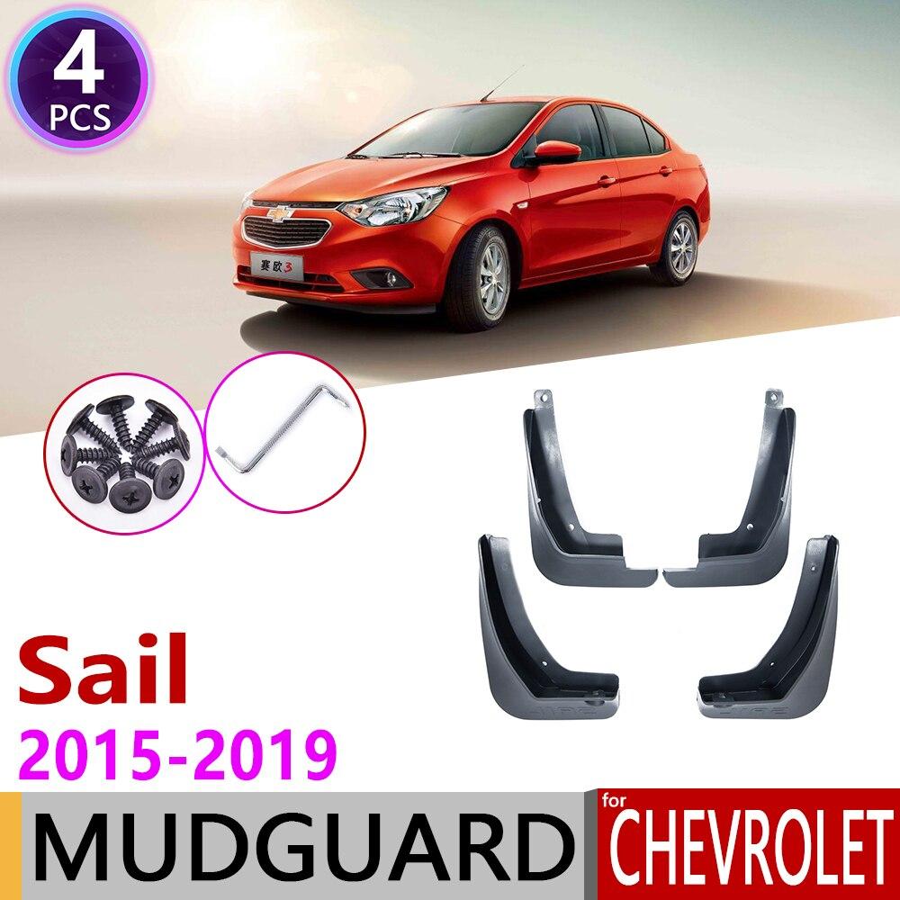 Coche de guardabarros para Chevrolet Sail Nuevo 2015, 2016, 2017, 2018, 2019 Mudflap guardabarros guardia Splash solapa Accesorios