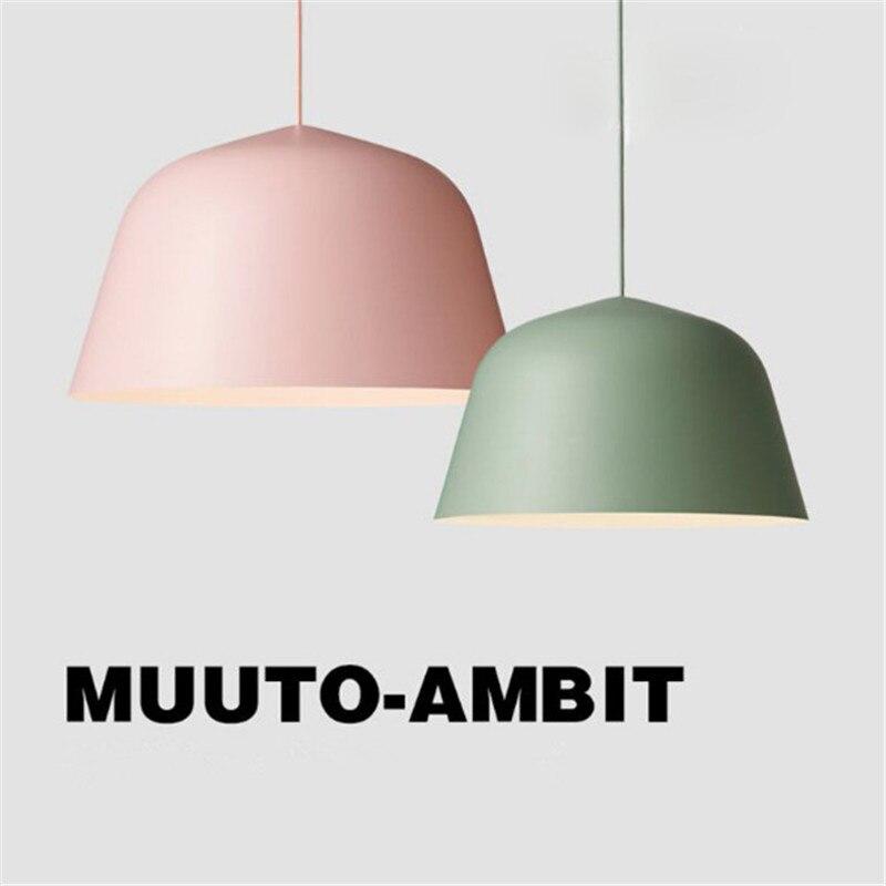 Modern Nordic AMBIT Denmark Pendant Lights Aluminum Pendant Lamps Led Ceiling Fixture Restaurant Kitchen Light Pendant