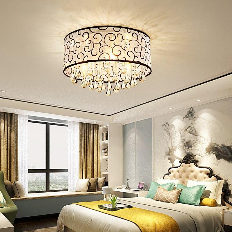 DX Moderne Kristall Führte Kronleuchter Luxus Dekor Decke Wohnzimmer ...
