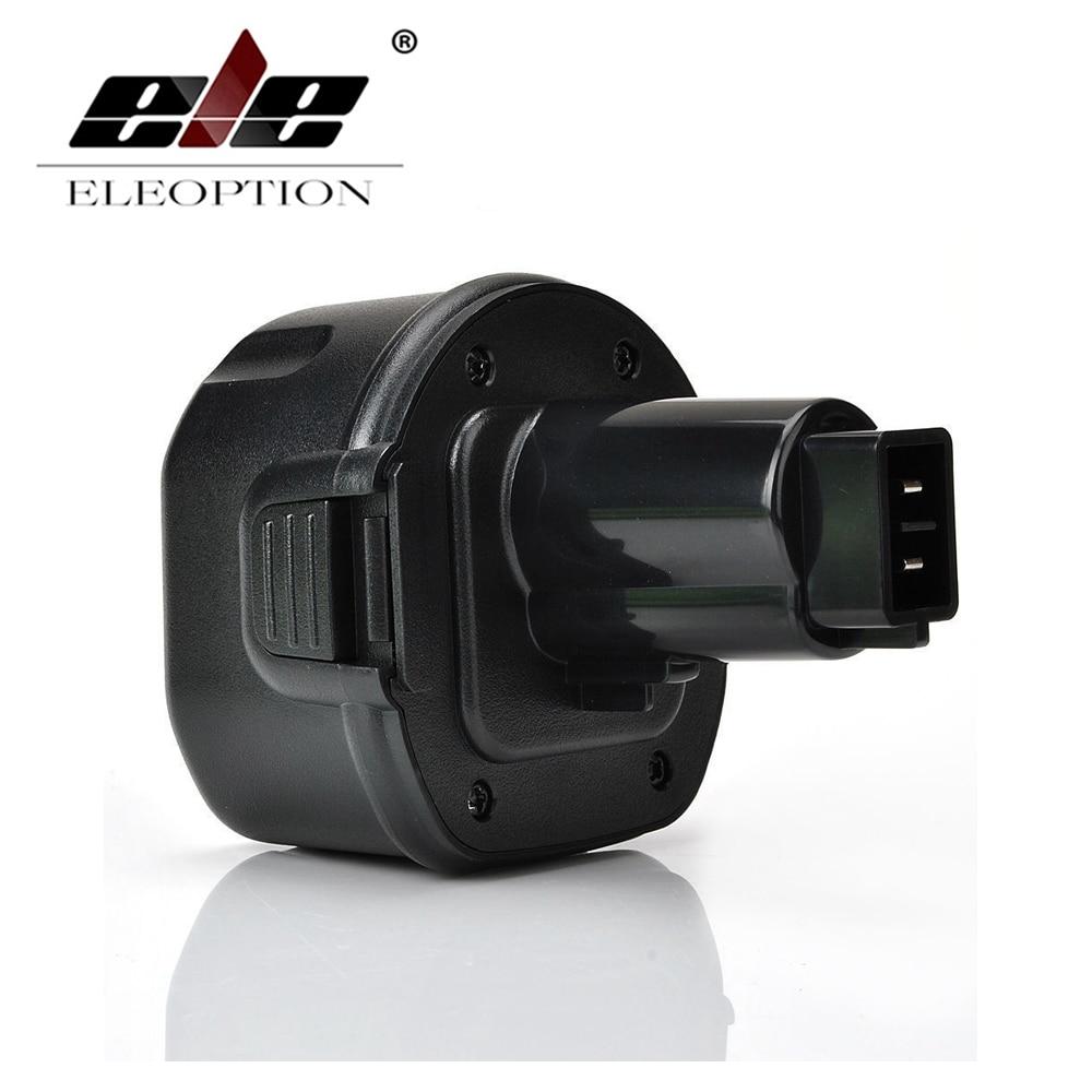 ELEOPTION 9.6V Rechargeable Power Tool Battery for DEWALT DW9061 DW9062 9.6 VOLT Power Tool 3000mAh цена