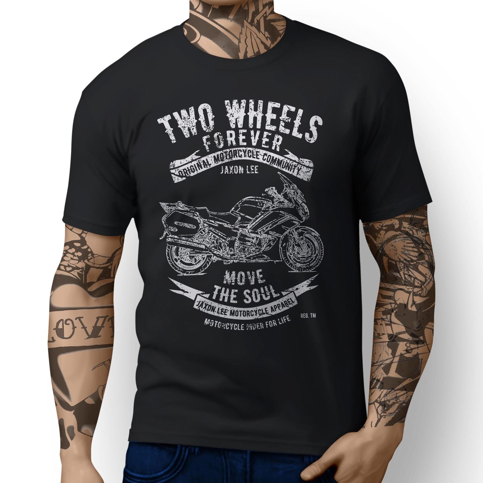 a095f089ee 2019 New Men T Shirt 100% Cotton Print Shirts Japanese Classic Motorbike  FJR1300 v2 inspired Motorcycle Art design T-shirts