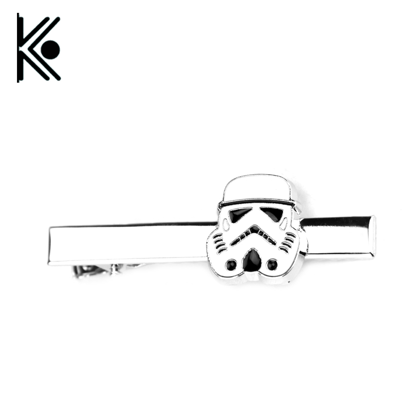Free Shipping Men's Cufflink Star Wars Movie Design Fashion Cufflinks Star Wars tie clip Men's shirt Wholesale