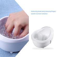 Электрическое наращивание ногтей Чаша для ногтей наконечник для замачивания лака жидкость для снятия геля инструмент дизайн для ногтей аксессуары