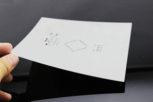 Image 2 - יצרן אל חלד pcb ההרכבה SMT סטנסיל PCB הלחמה הדבק חרוטים/לחתוך לייזר מדפסת